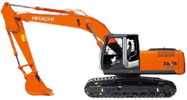 Гусеничный экскаватор Hitachi ZX 200